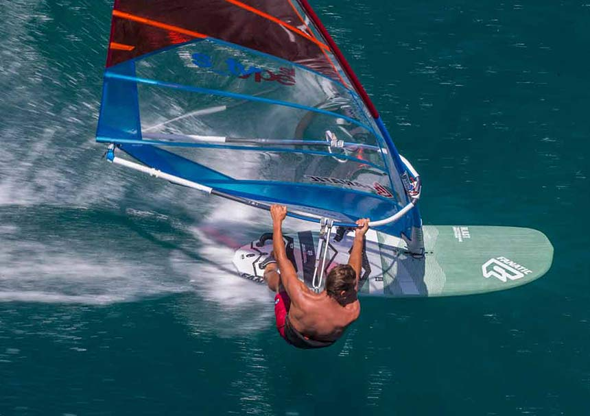 windsurfing is a great exercise