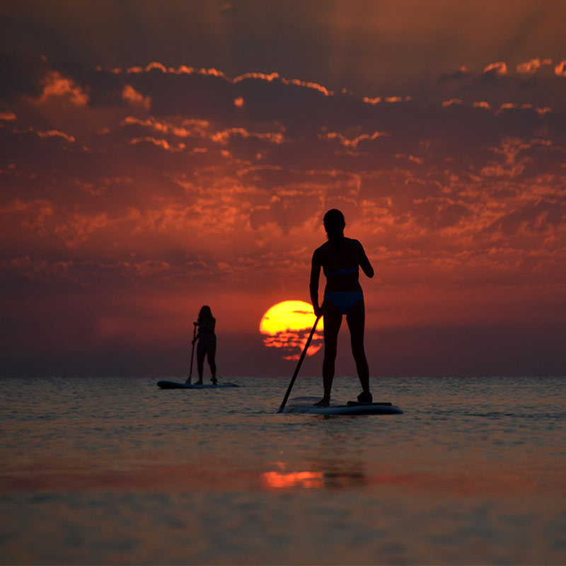 Sunrise Experience on a SUP board