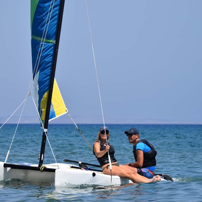 Catamaran sailing Cyprus