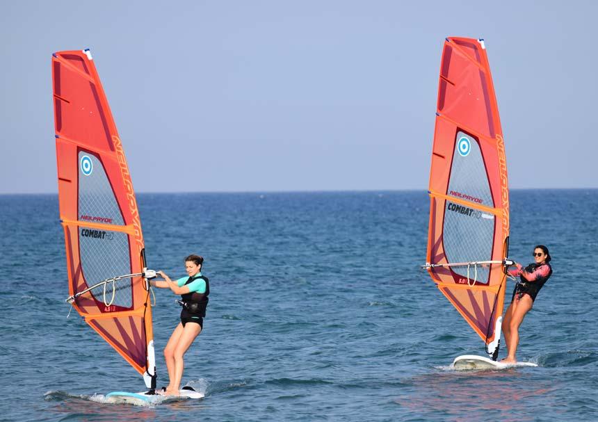 Windsurfing rules o way