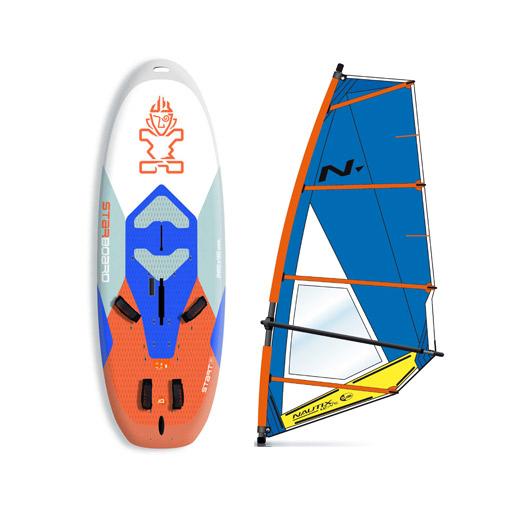 Windsurfing Beginner Equipment for kids 1 hour