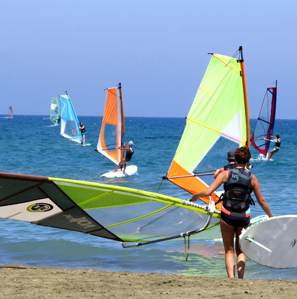 What is Windsurfing? | Windsurf City Cyprus